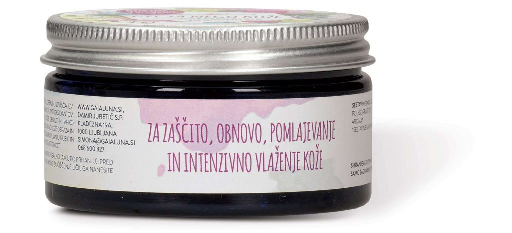 Aloe vera anti age gel, GaiaLuna domača kozmetika