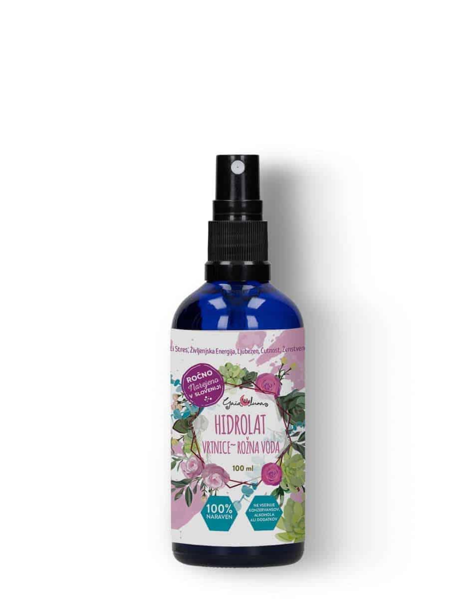 Naraven hidrolat damaščanske vrtnice - immortelle. GAIA LUNA, naravna kozmetika