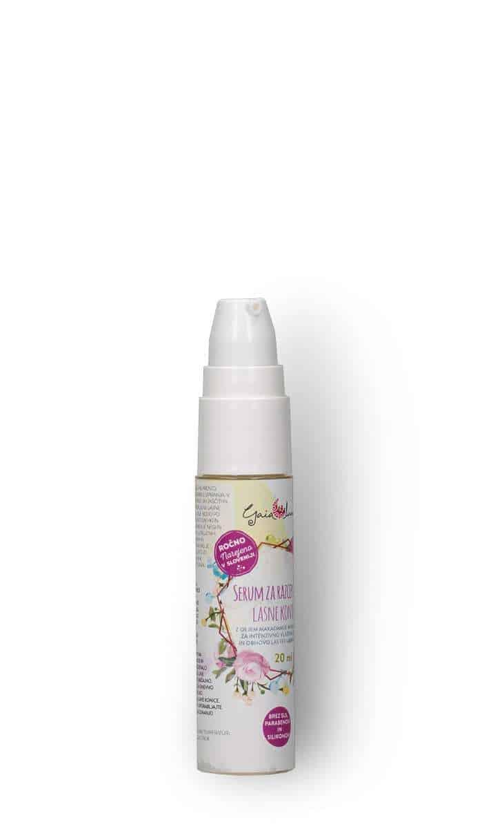 Serum za lase za globinsko obnovo, GaiaLuna domača kozmetika
